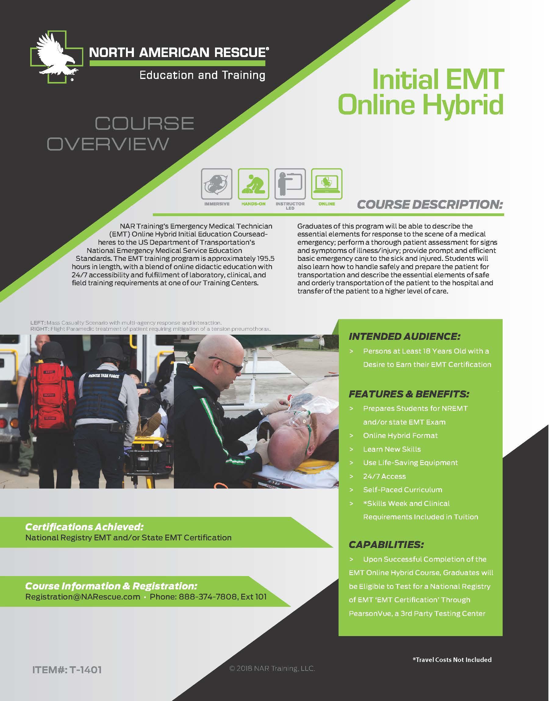 Initial EMT Online Hybrid